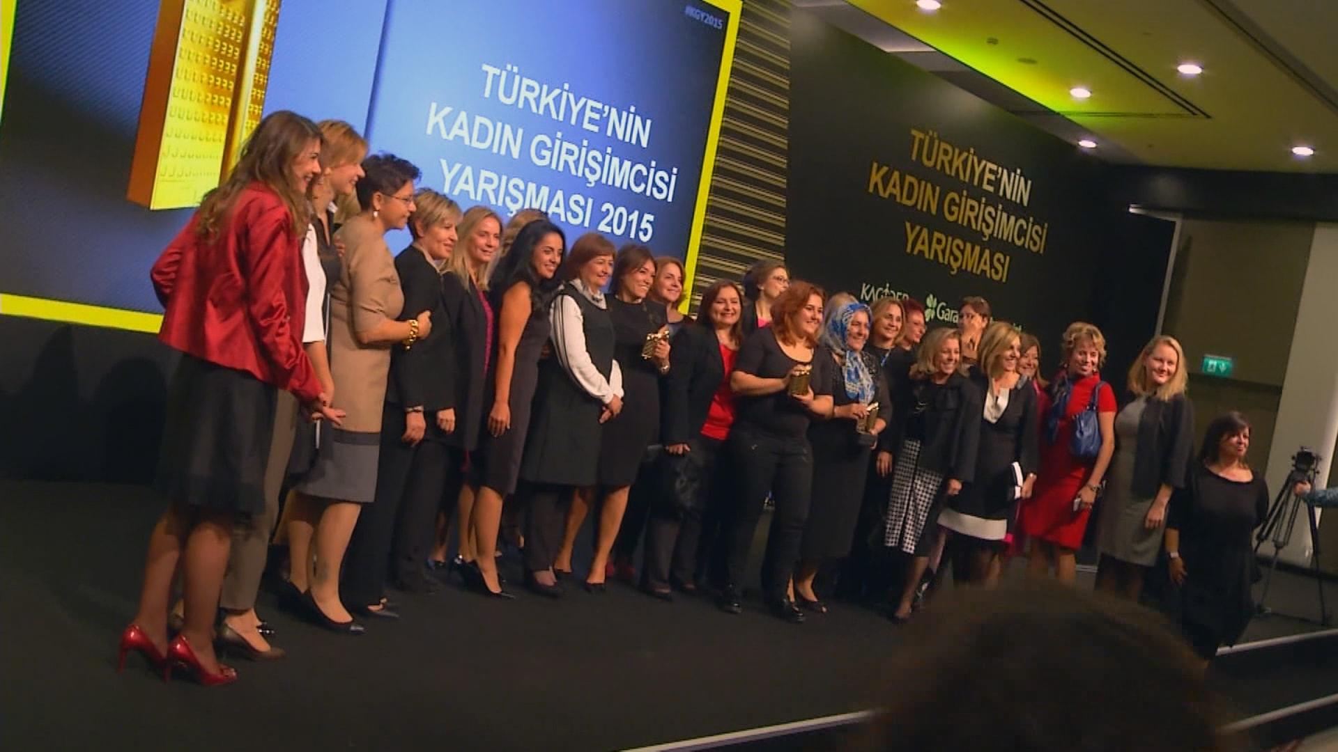 Garanti Kadın Girişimciler Ödül Töreni
